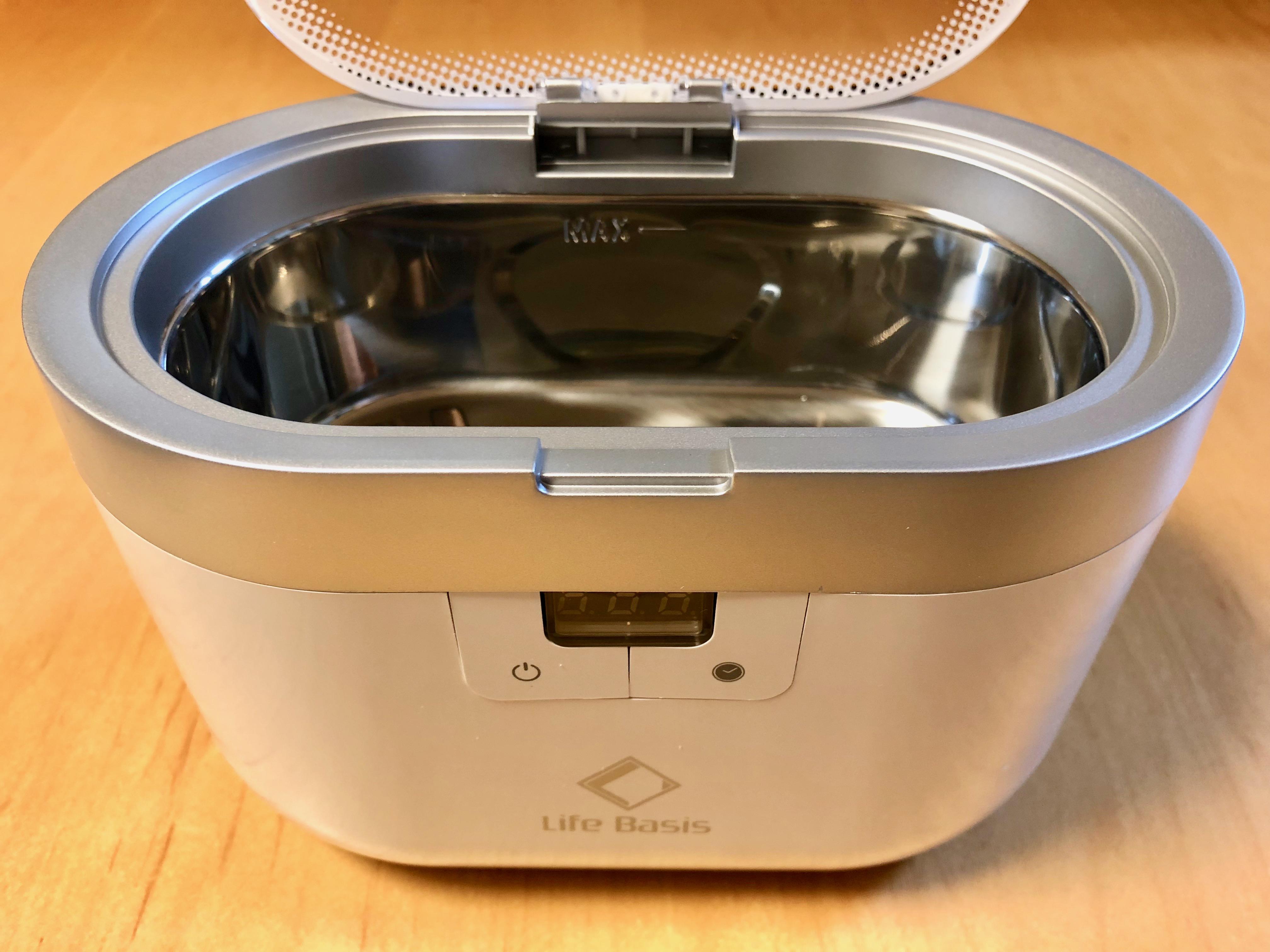 超音波洗浄機購入