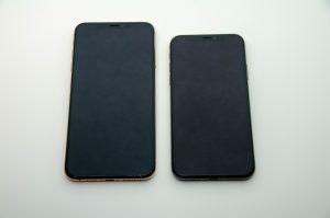 iPhone XS maxとiPhone X