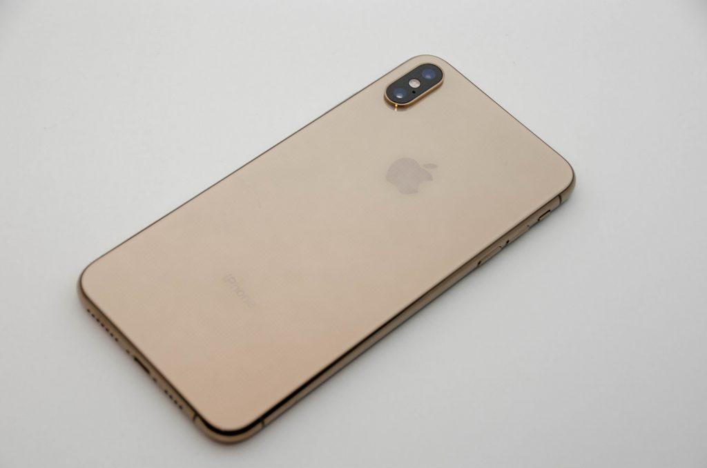 iPhone XS max 裏面